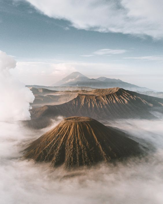 Hiking destinations in Indonesia