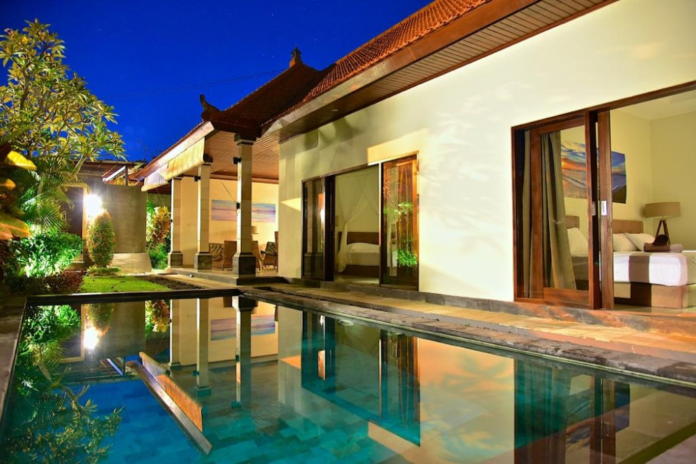 luxury canggu bali villas with a private pool to pamper travelers